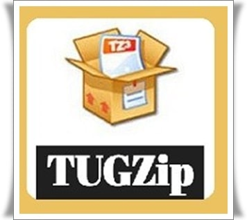 تحميل برنامج Tugzip للكمبيوتر لضغط الملفات للكمبيوتر برابط مباشر مجانًا