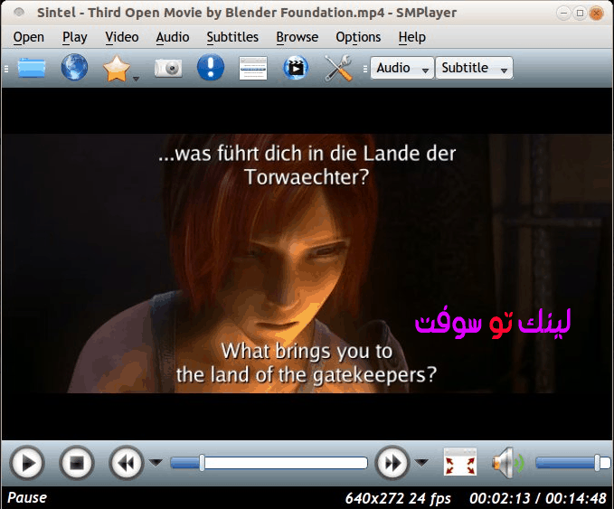 برنامج مشغل الفيديو SMPlayer