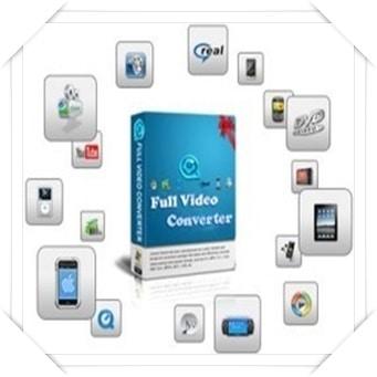 تحميل برنامج Full Video Converter لتحويل صيغ الفيديو للكمبيوتر