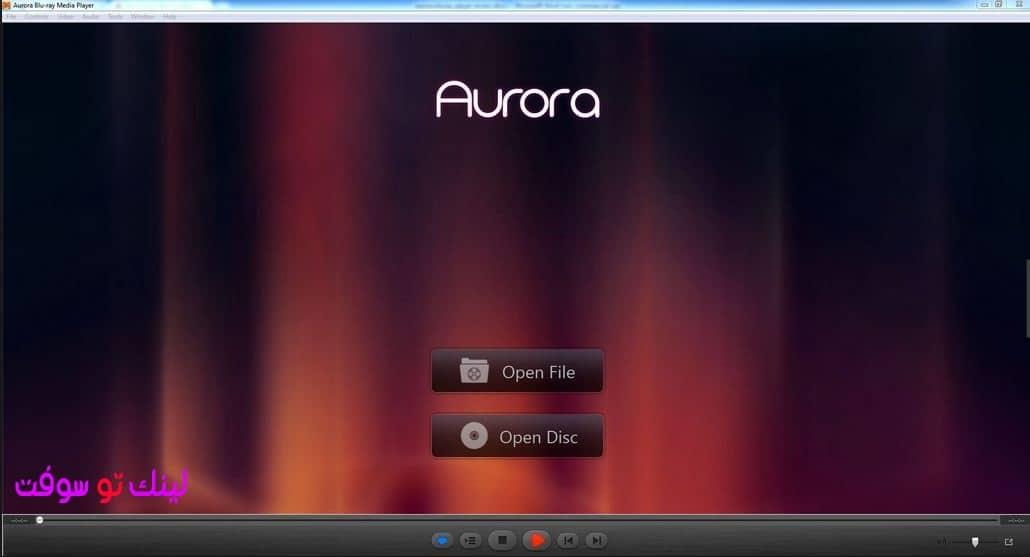 مشغل الفيديو برنامج Aurora Blu-ray Media Player