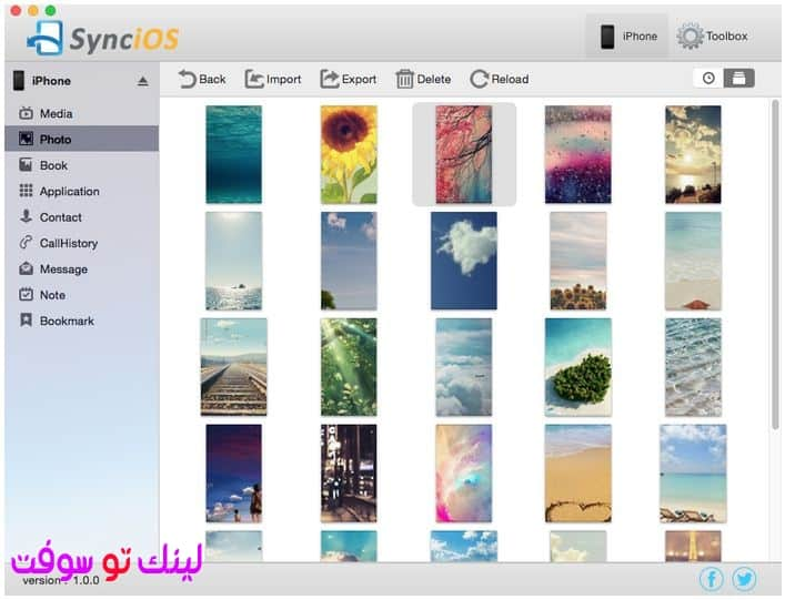 Syncios iPad/iPhone/iPod Manager For Mac