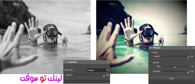 مميزات برنامج تعديل الصور