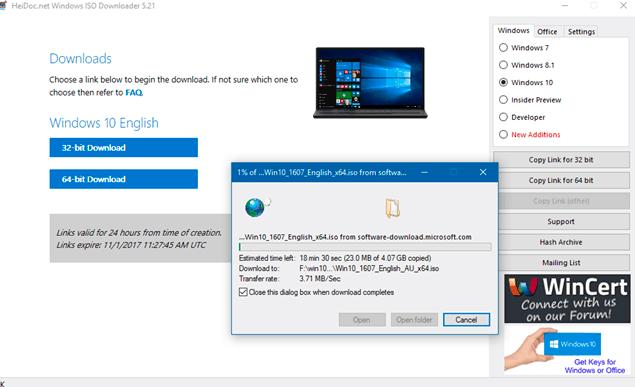 تنزيل ملف ISO لنظام التشغيل Windows 10