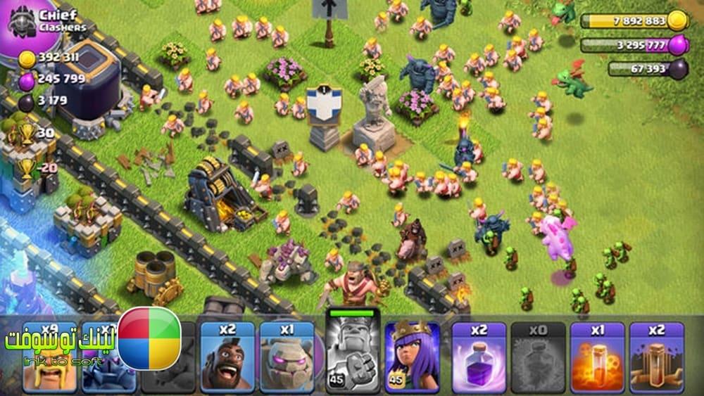 تحميل لعبة clash of clans للكمبيوتر والاندرويد والايفون مجانا
