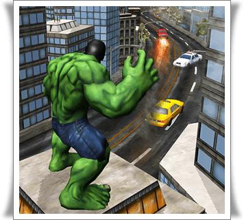 تحميل لعبة الرجل الاخضر هالك للاندرويد apk برابط مباشر اخر اصدار