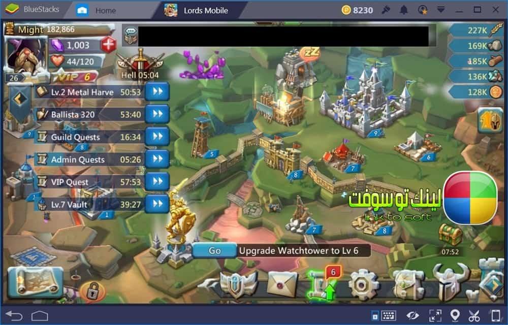 تحميل لعبة clash of kings للكمبيوتر