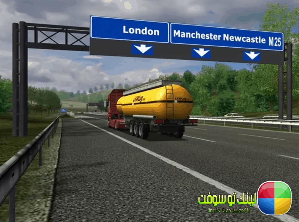 مميزات Euro truck simulator