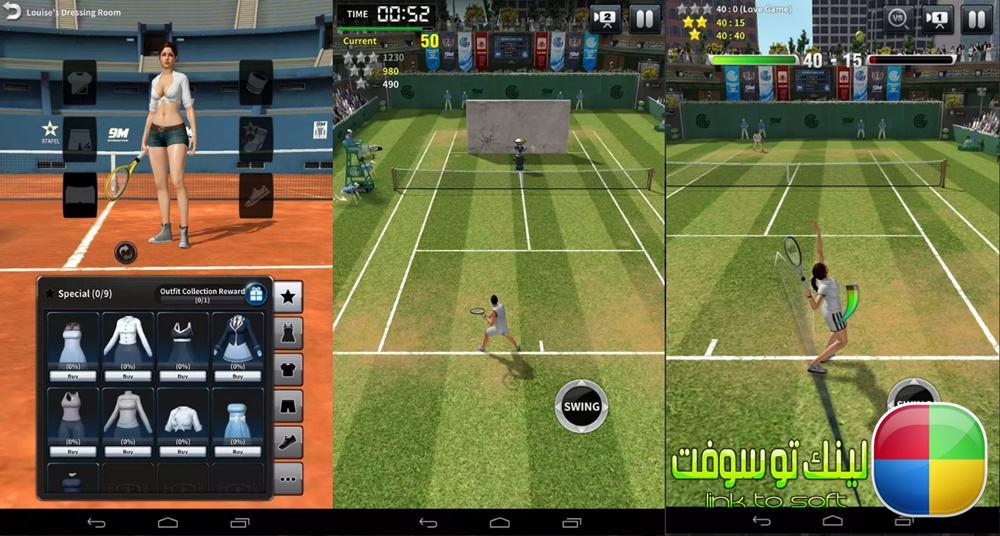تنزيل لعبة ultimate tennis للايفون مجانا