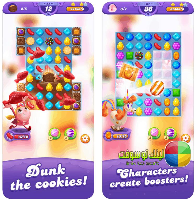 طريقة لعب Candy Crush Friends Saga