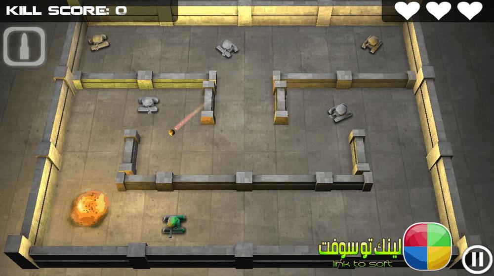 تحميل لعبة tank hero للموبايل اندرويد وايفون اخر اصدار